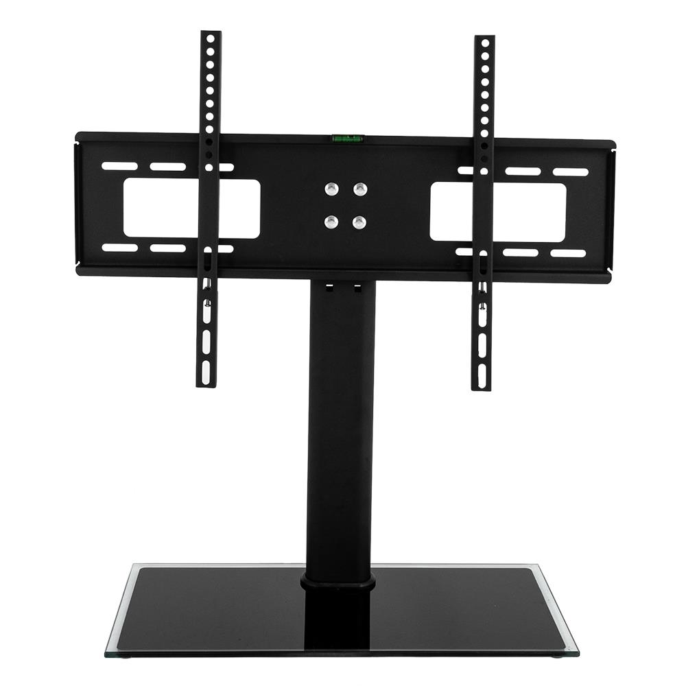 "TV Stand Base Swivel Mount and Height Adjustable for 32/""-55/"" Tvs 110 LB Load"