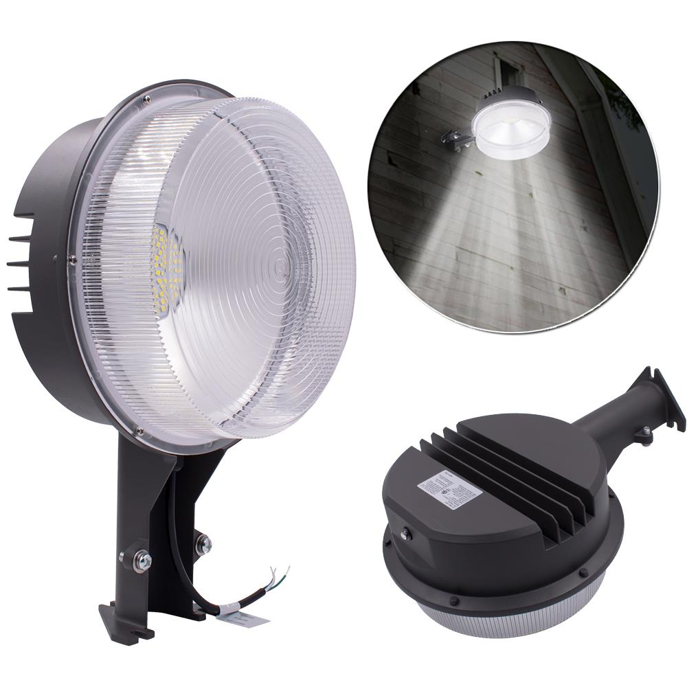 50W Outdoor LED Barn Light Street Road Lighting Dusk to Dawn photocell 4500LM x3